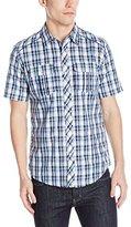 Burnside Men's Detractor Short Sleeve Woven Shirt