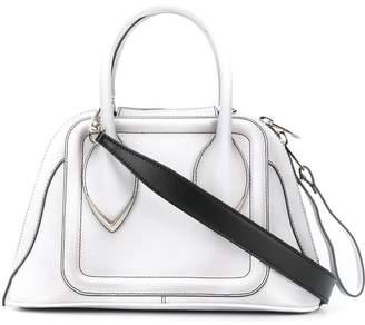 Alexander McQueen structured top handle