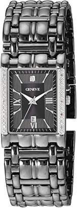 EWatchFactory Geneve Men's Analog-Quartz Watch with Alloy Strap