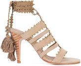 Ulla Johnson Sabina sandals - women - Suede/Leather - 6