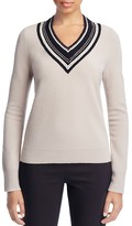 Tory Burch Petale Embellished Merino Wool Sweater