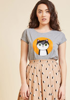 ModCloth Clawing the Shots T-Shirt in XS