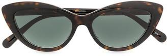 Stella McCartney Chain-Trimmed Cat Eye Sunglasses