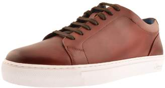 Oliver Sweeney Sweeney London Hayle Leather Trainers Brown