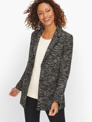 Talbots Knit Tweed Jacket