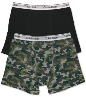 Calvin Klein Big Boys Boxer Brief, 2 Pack