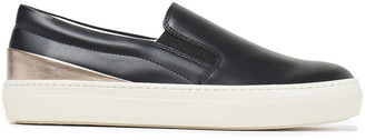 Tod's Two-tone Leather Slip-on Sneakers