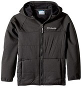 Columbia Kids Take A Hiketm Softshell Jacket (Little Kids/Big Kids) (Black) Boy's Coat