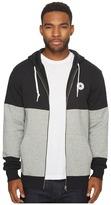 Converse Core Color Block Full Zip Hoodie Men's Sweatshirt