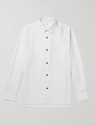 Mr P. Striped Swiss Cotton Shirt