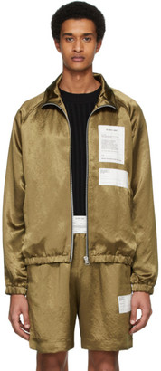 Helmut Lang Bronze Warm Up Jacket