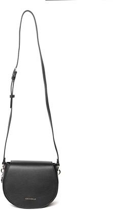 Coccinelle Alpha Black Leather Bag