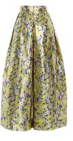 DELPOZO Floral Wide Legged Trousers