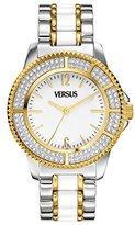 Versus By Versace Women's SH7090013 Tokyo Crystal Analog Display Japanese Quartz Silver Watch