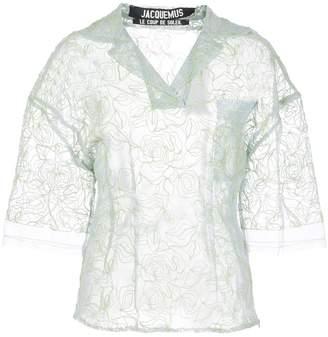 Jacquemus Sheer Lace Shirt