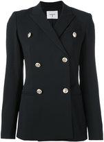 Dondup double-breasted blazer - women - Polyester/Spandex/Elastane/Acetate/Virgin Wool - 42