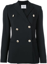 Dondup double-breasted blazer - women - Polyester/Spandex/Elastane/Acetate/Virgin Wool - 46