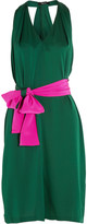 Raoul Jeanette belted silk dress