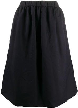Comme des Garçons Comme des Garçons Ruched Circle Skirt