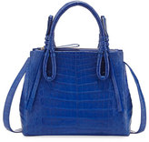 Nancy Gonzalez Crocodile Medium Knotted Top-Handle Bag