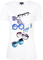 Emporio Armani printed T-shirt - women - Cotton/Spandex/Elastane - 46