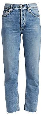 Women's High-Rise Stovepipe Jeans