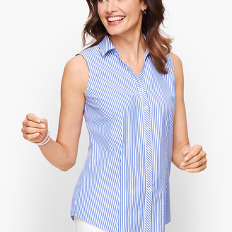Talbots Perfect Shirt - Sleeveless - Mixed Stripe
