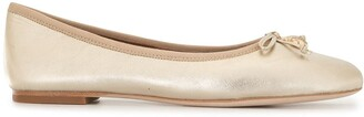Tory Burch Leather Charm Ballet Flats