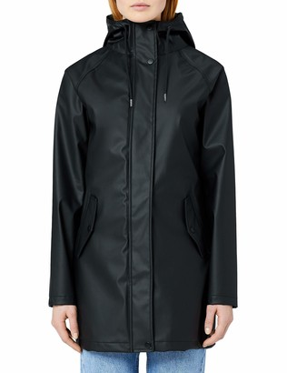 Meraki Amazon Brand Women's Water Resistant Raincoat