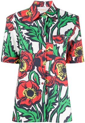 La DoubleJ Floral Print Shirt