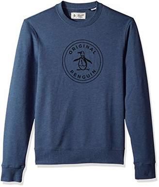 Original Penguin Men's Long Sleeve Logo Sweatshirt
