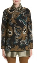 Lafayette 148 New York Women's Paisley Jacquard Sweater