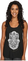 Spiritual Gangster Hamsa Eye Stamp Favorite Racerback Tank Top