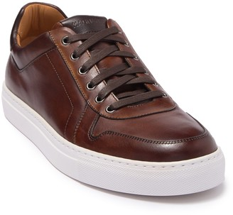 Magnanni Bobbie Tabaco Leather Sneaker