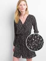 Gap Print button-front dress