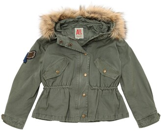 American Outfitters Hooded Cotton Canvas Jacket