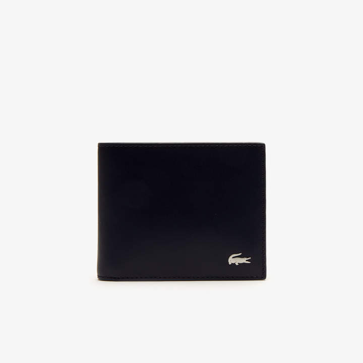 Lacoste Men's Fitzgerald Colorblock Leather 6 Card Wallet