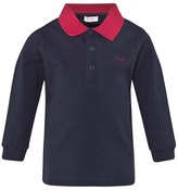 Il Gufo Navy Jersey Polo