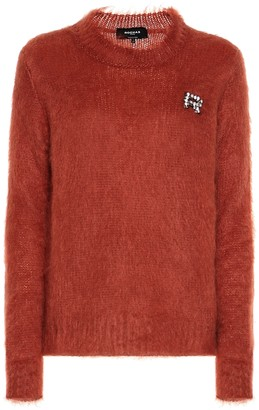 Rochas Embellished mohair-blend sweater