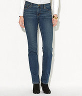 Lauren Ralph Lauren Petite Super Stretch Slimming Classic Straight Jeans