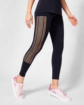 Ted Baker Bow detail cutout leggings