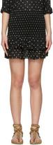 Etoile Isabel Marant Black Malfos Miniskirt