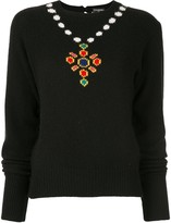 Chanel Pre Owned 1995 intarsia knit jumper