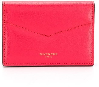 Givenchy Logo Stamp Wallet