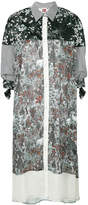 I'M Isola Marras patchwork shirt dress