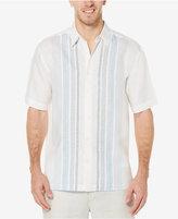 Cubavera Men's Linen Embroidered Panel Shirt