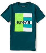 Hurley Big Boys 8-20 Don't Start Short-Sleeve Graphic Tee