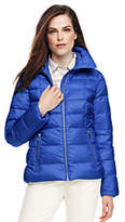 Lands' End Women's Petite Lightweight Down Jacket-Bright Coral Reef