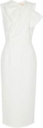 Roksanda Bridal Flandre crApe gown