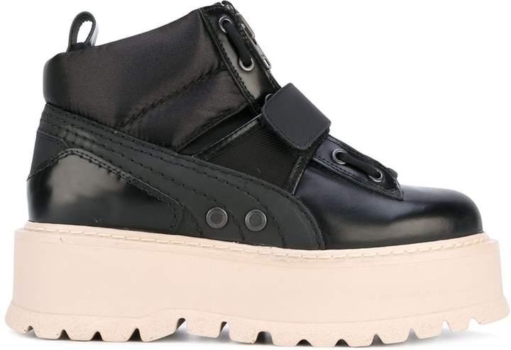 hot sale online 54f3e aed3b Fenty sneaker boots